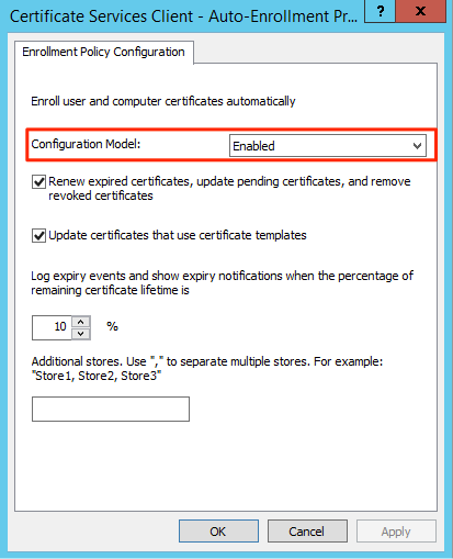 Winrm ssl certificate deployment via gpo you can now link the gpo and wait for the gpo update to happen on the hosts this can take up to 2 hours or you can use the powershell to force yadclub Image collections