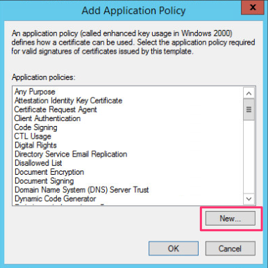 Rdp tls certificate deployment using gpohackdig we provide the policy a name in the example i give it a name of remote desktop authentication and provide a object identifier of 1361413115412 yelopaper Choice Image