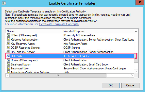 a group policy object that will be linked to the active directory container where the hosts we want to be able to request the certificate template
