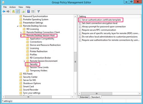 RDP TLS Certificate Deployment Using GPO_HackDig