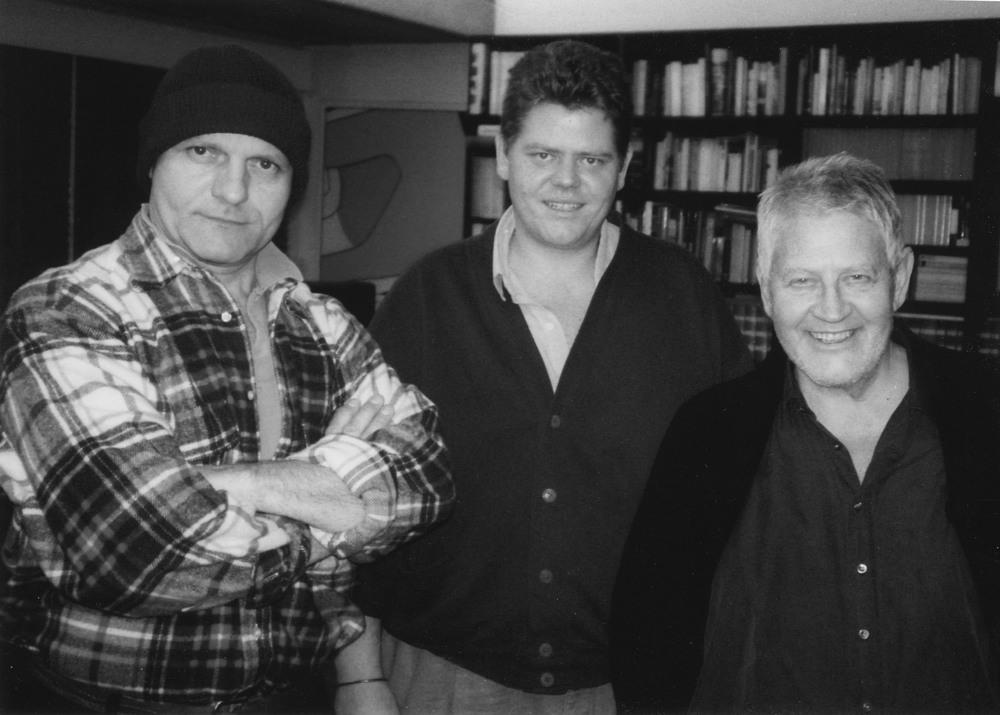 Livio, Jonas et Hugo Pratt