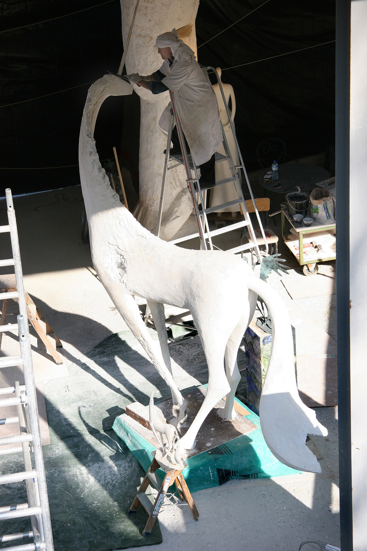 Licorne ailée