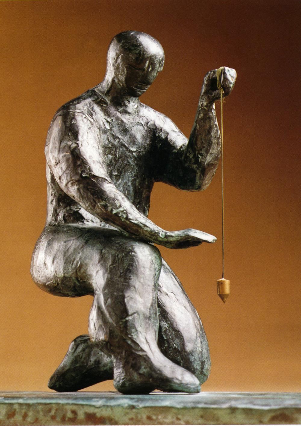 bronze, hauteur 25cm.