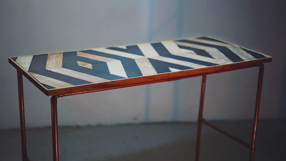 ANAMORPHIC PARQUET TABLES [CONT] - [READ MORE]