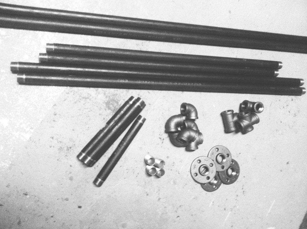 industrialfurnitureblackirongaspipe