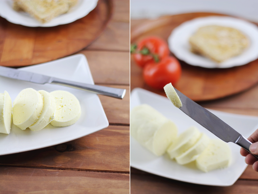 Make super soft and creamy homemade butter! Super easy with step by step pics!