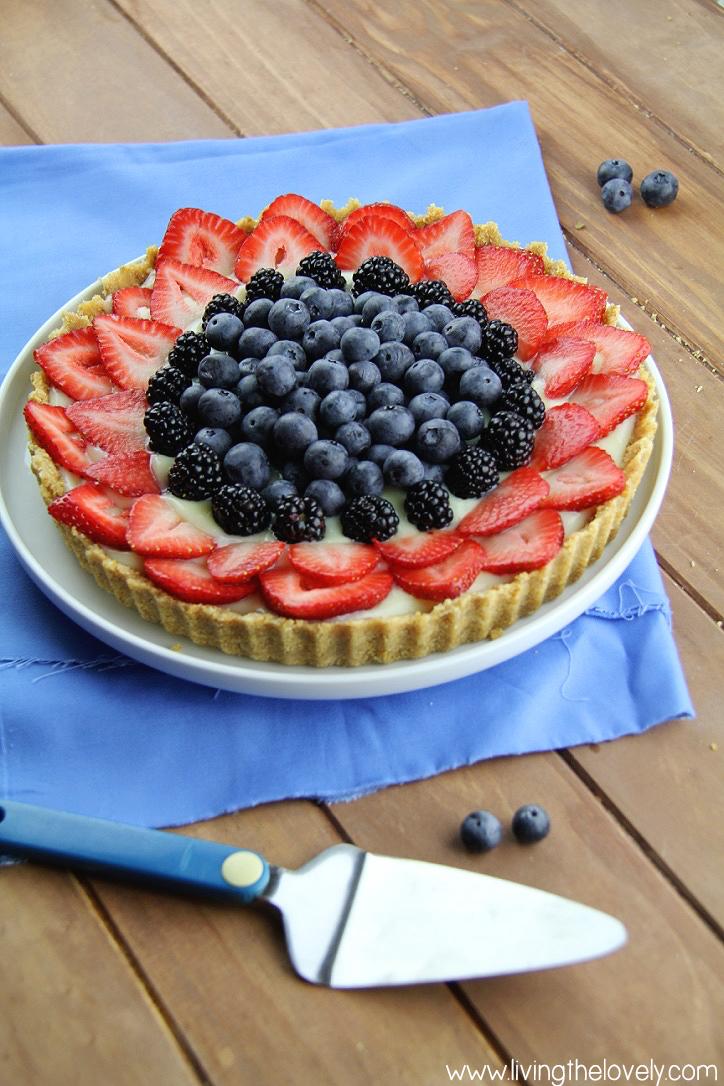 Easy berry tart recipes