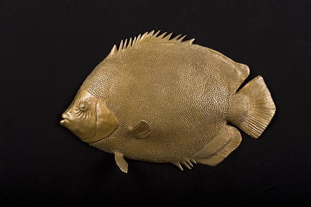 Emperor Angel Fish Sculpture