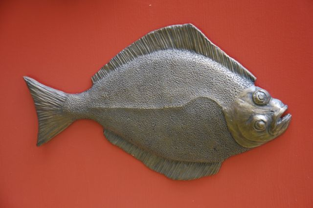 Halibut Sculpture