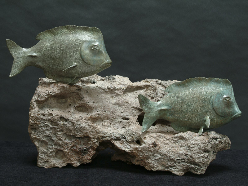 Surgeon Fish Sculpture