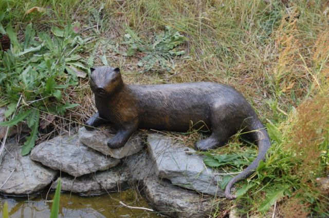 River Otter Sculpture