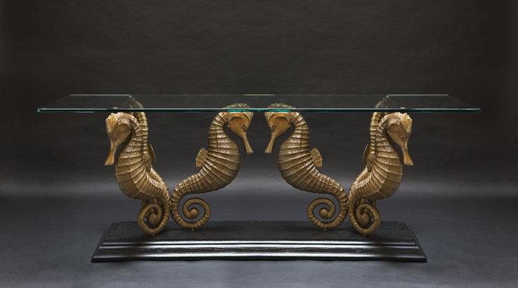 Fall Studio News Paul Harder Bronze Works - Seahorse coffee table