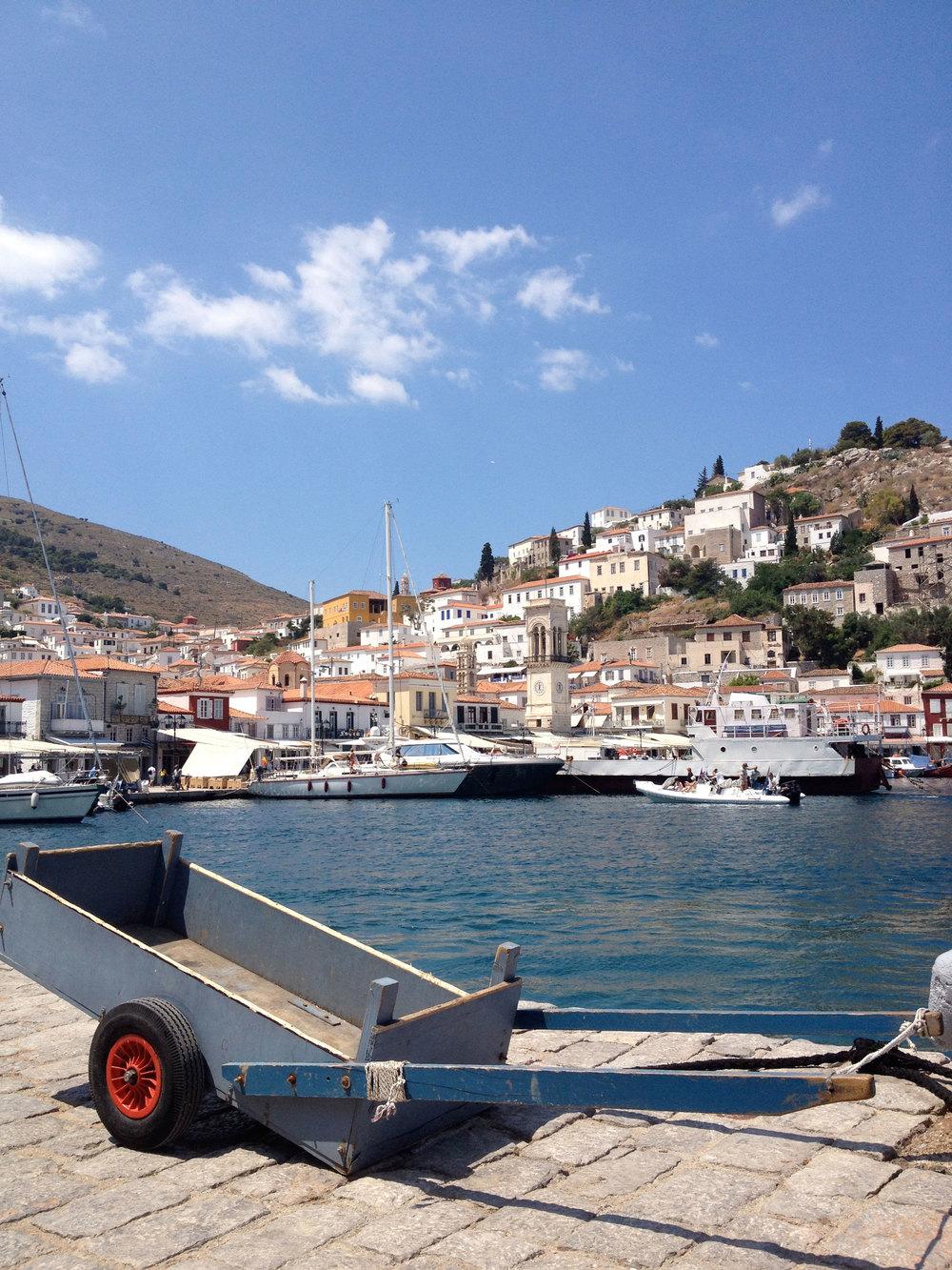 Greece A Little Island Called Hydra Marielozano Com