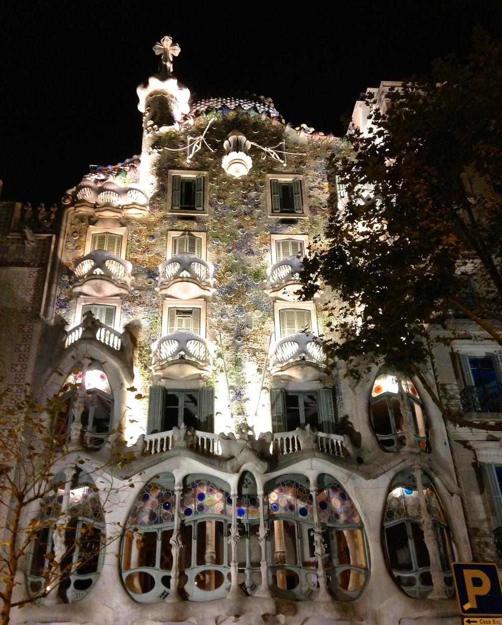 Casa Batlló, my favorite work of Antoni Gaudí