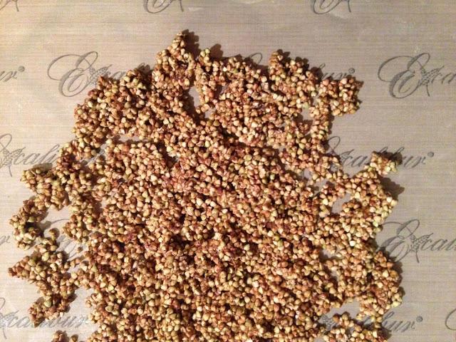 Activated Caramalized Buckweat Granola or Buckinis