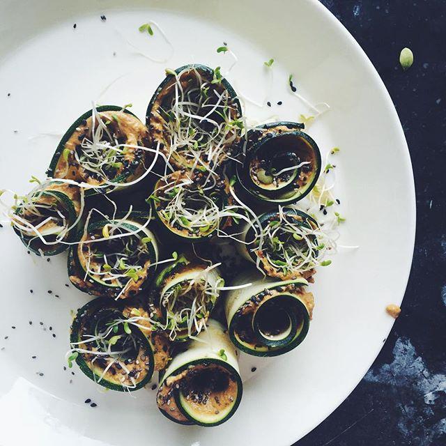 raw-zuchini-rolls-nourish-kitchen