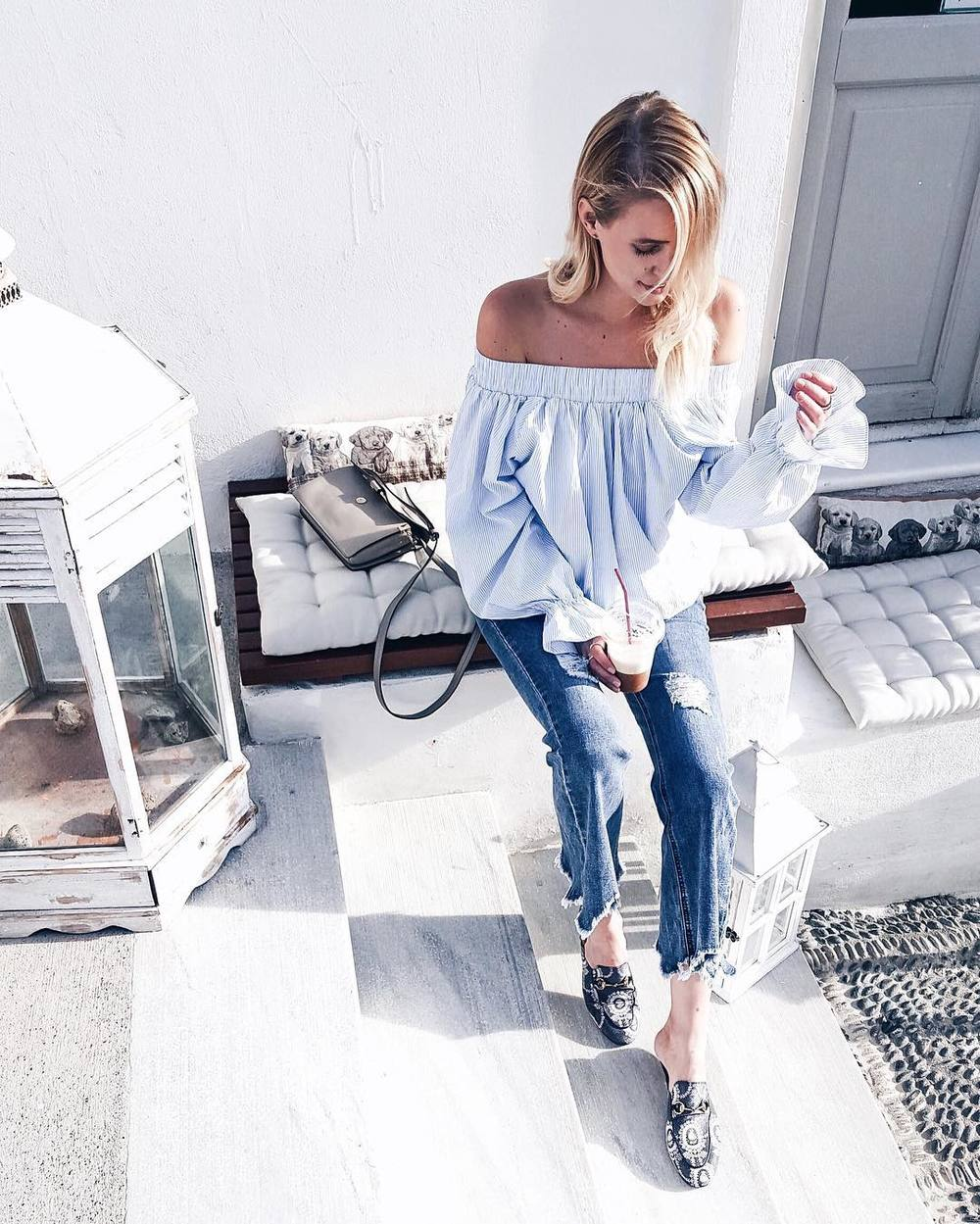 Big_sleeves__used_denim_and__gucci_slipper_to_explore_my_favorite_island_ever_____ohhsantorini__Santorini__greece_www.liketk.it2lu2f__IntimissimiLovesSantorini_by_ohhcouture.jpg
