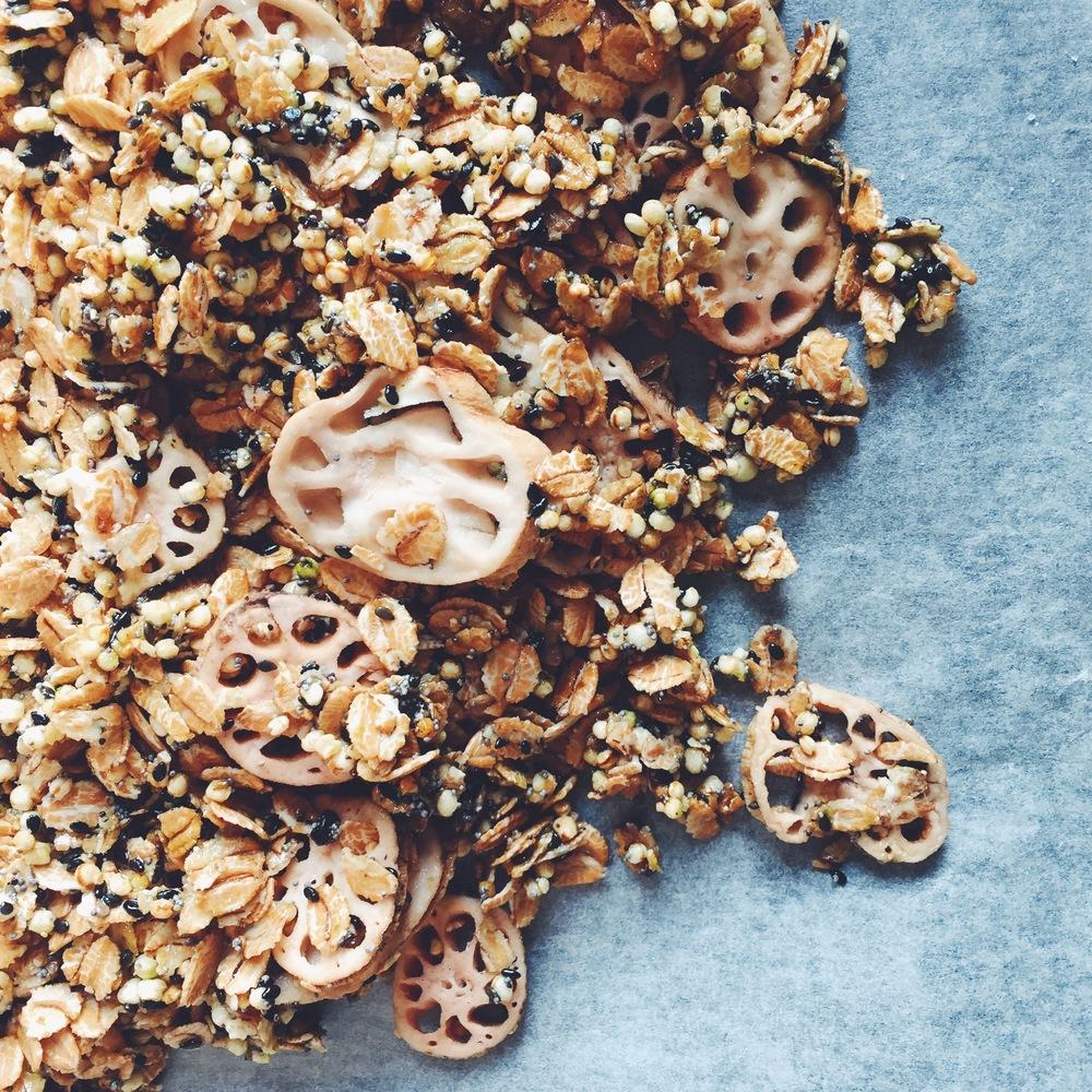 lotus granola