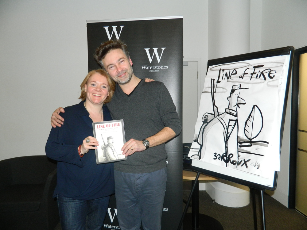 Barroux and Sarah LOF launch Waterstones.jpg