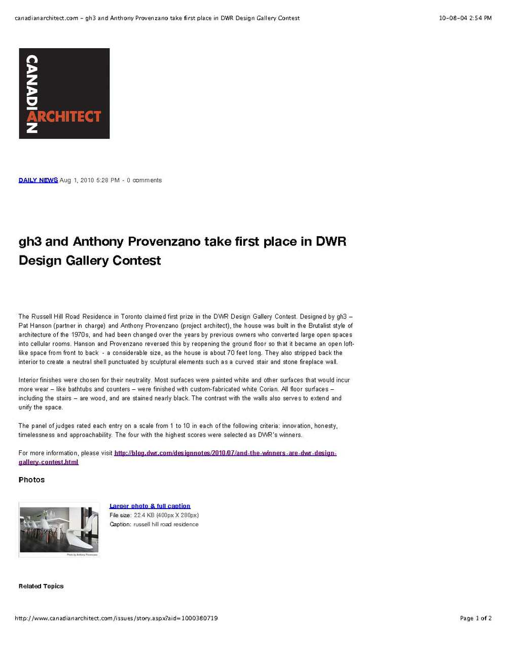 canadianarchitect.com - gh3 and Anthony Provenzano take first place in DWR Design Gallery Contest.jpg