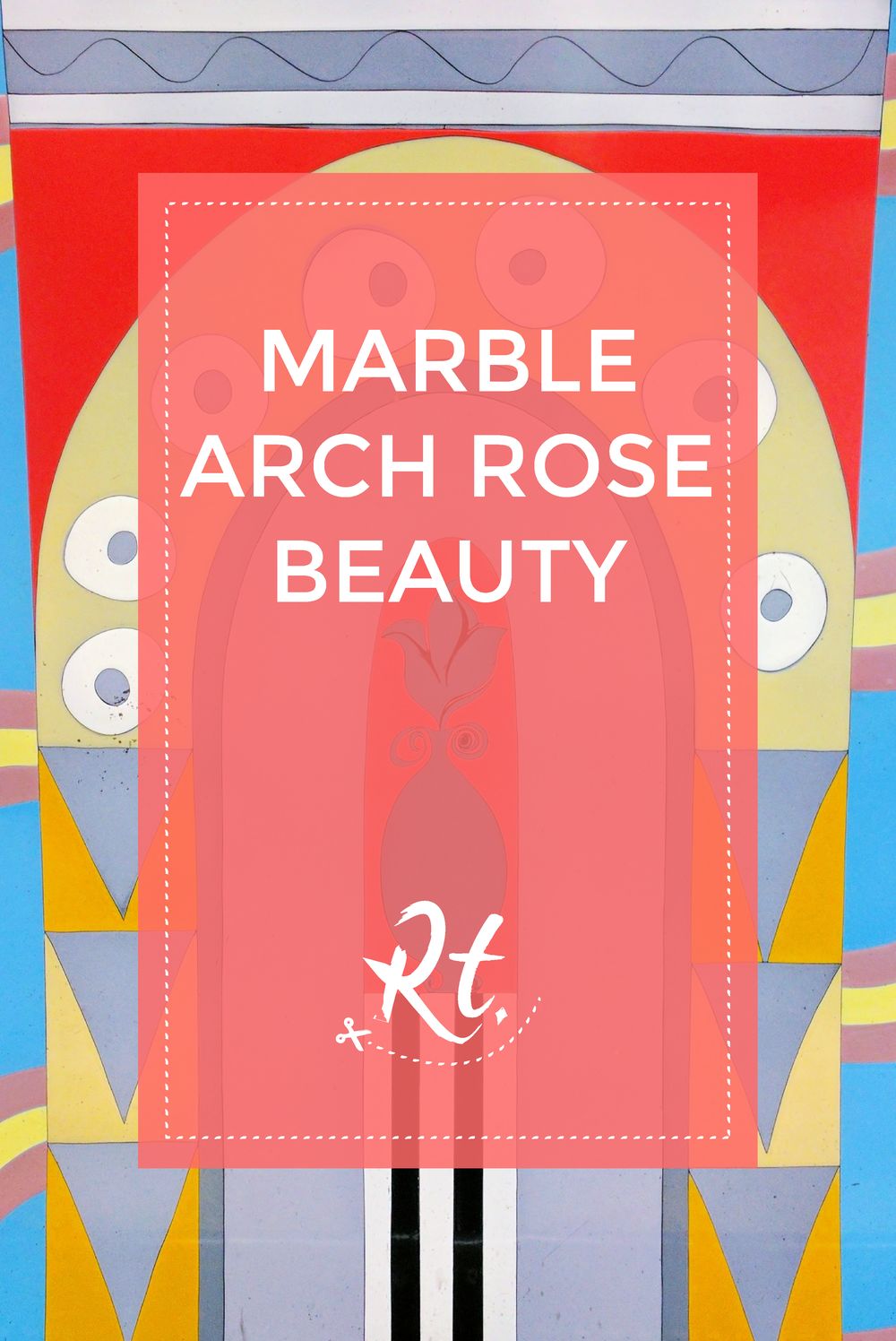 March Arch, tube station, rose