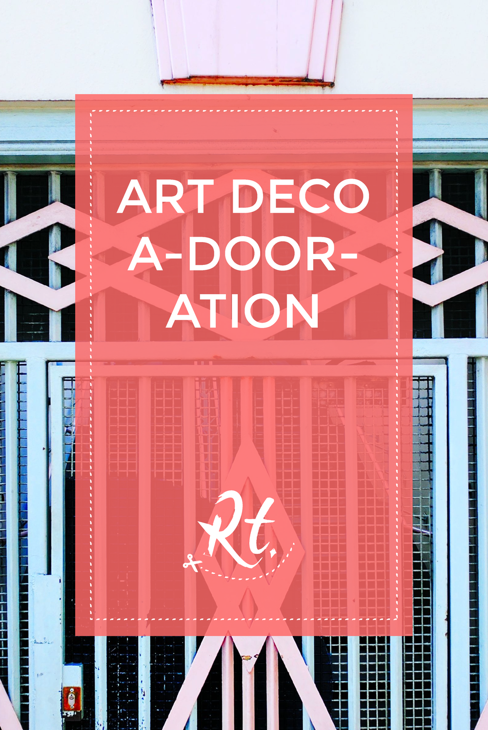 Art Deco Hackney Door