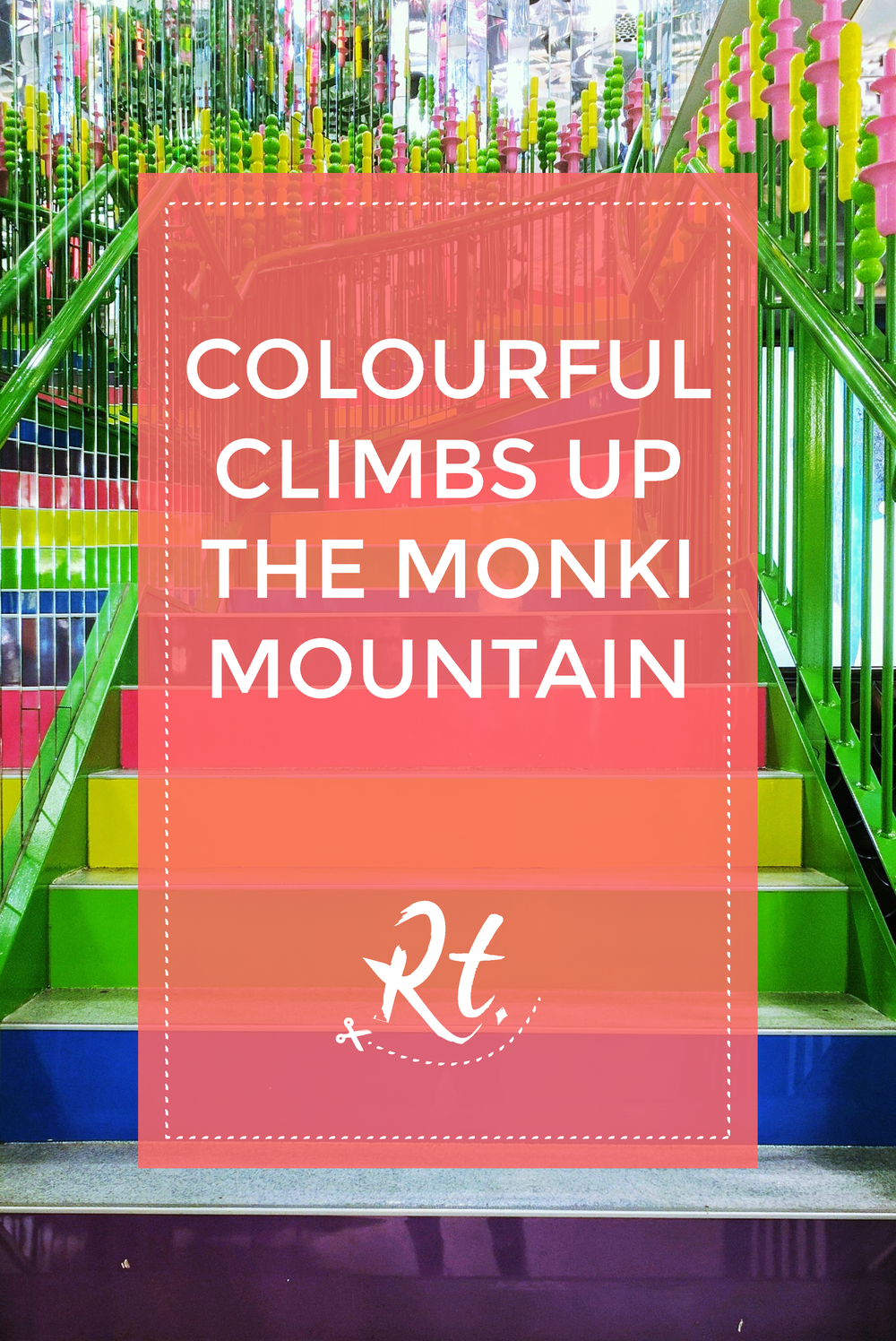 Monki Staircase at Carnaby Street