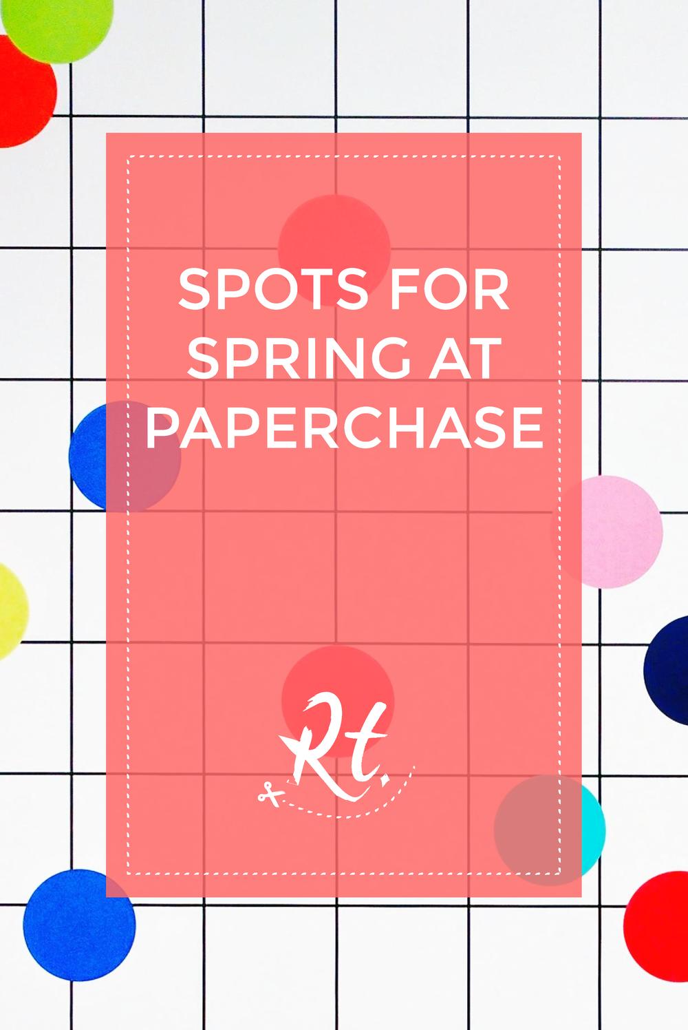 Paperchase Spot Wallpaper