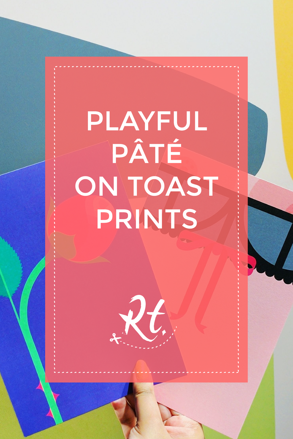 Pâté on Toast, Typography Prints from King and McGaw