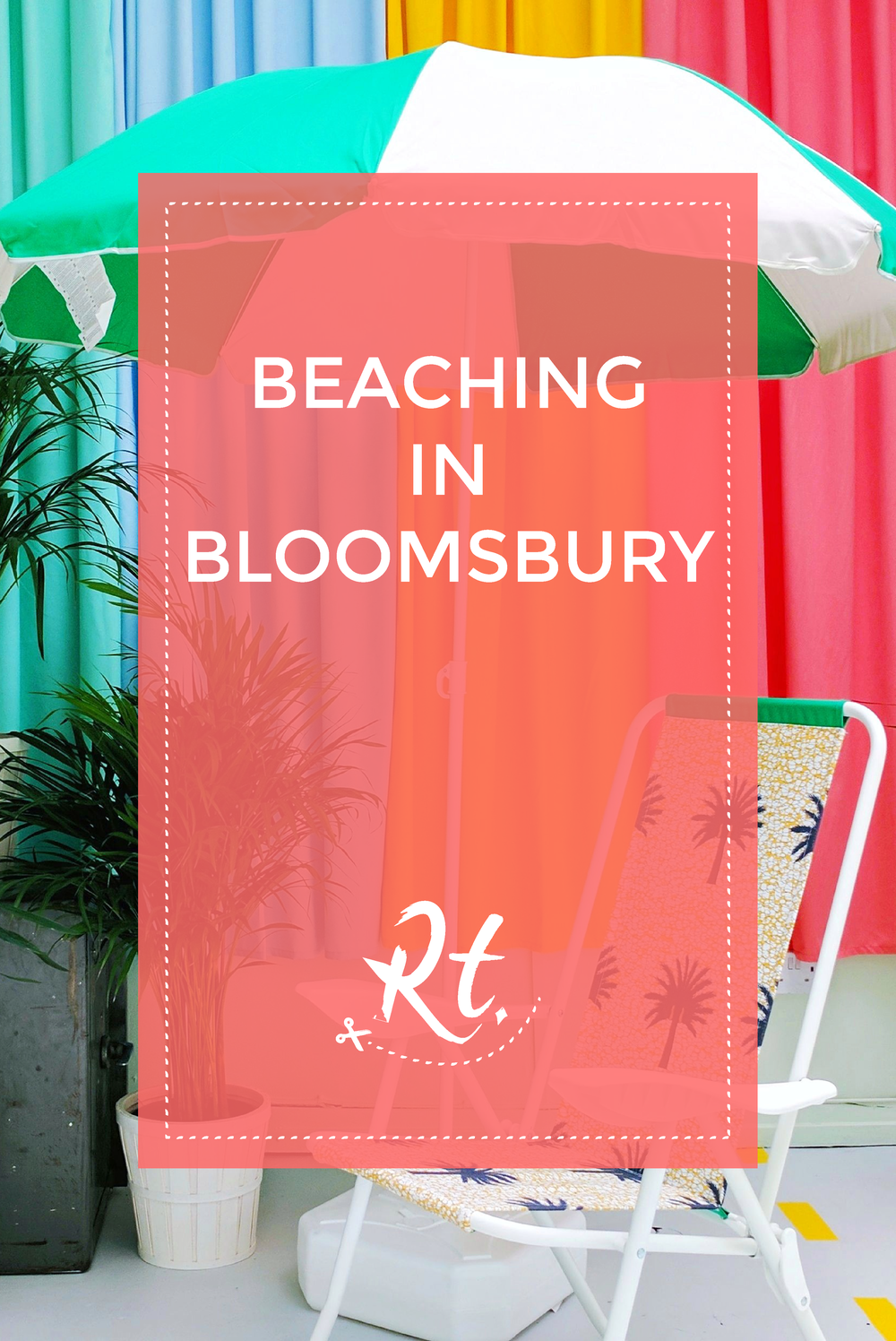 Beaching in Bloomsbury by Rosh Thanki, Yinka Ilori interior design at Plinth Gallery.png