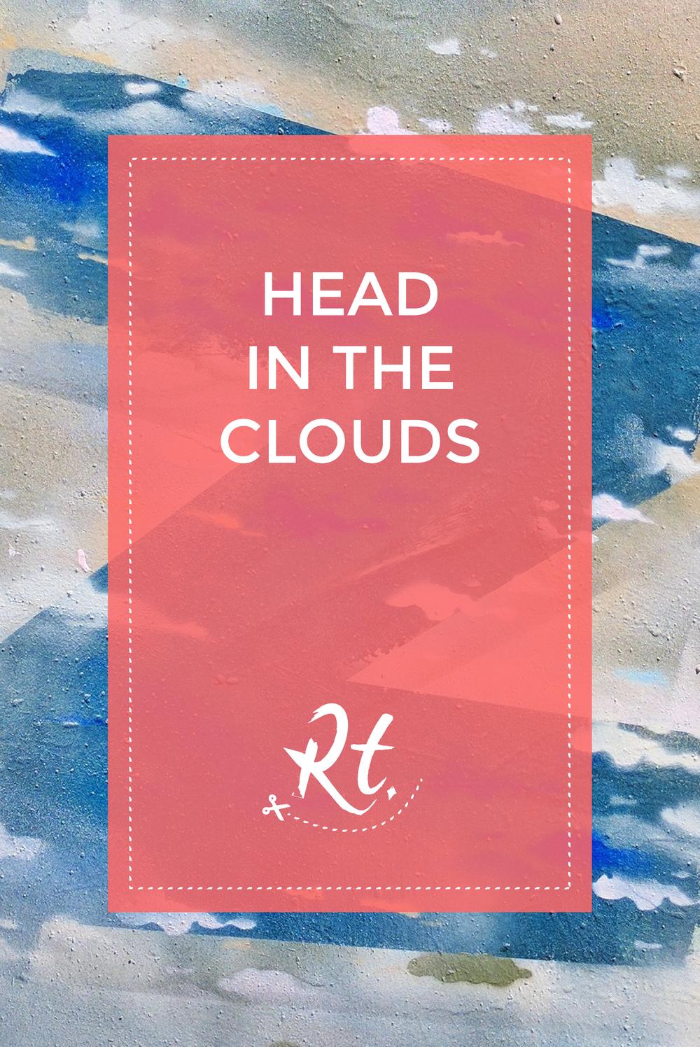 Head in the Clouds by Rosh Thanki, sleepy Zandism Z street art in Camden Town
