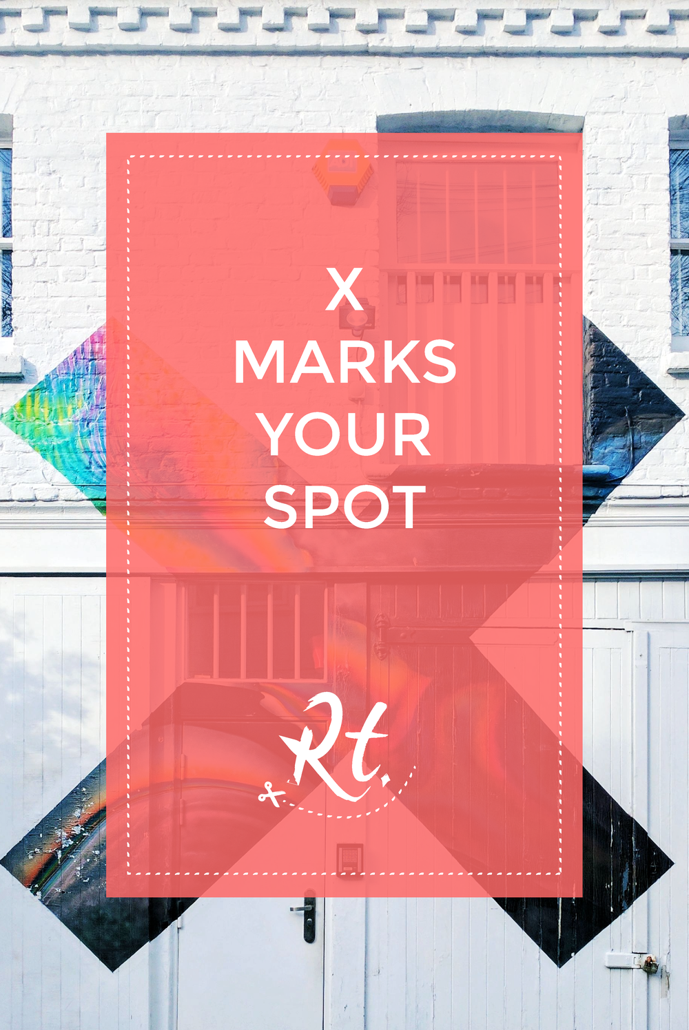 X Marks Your Spot by Rosh Thanki, The XX Coexist album art, at XL Recordings in London