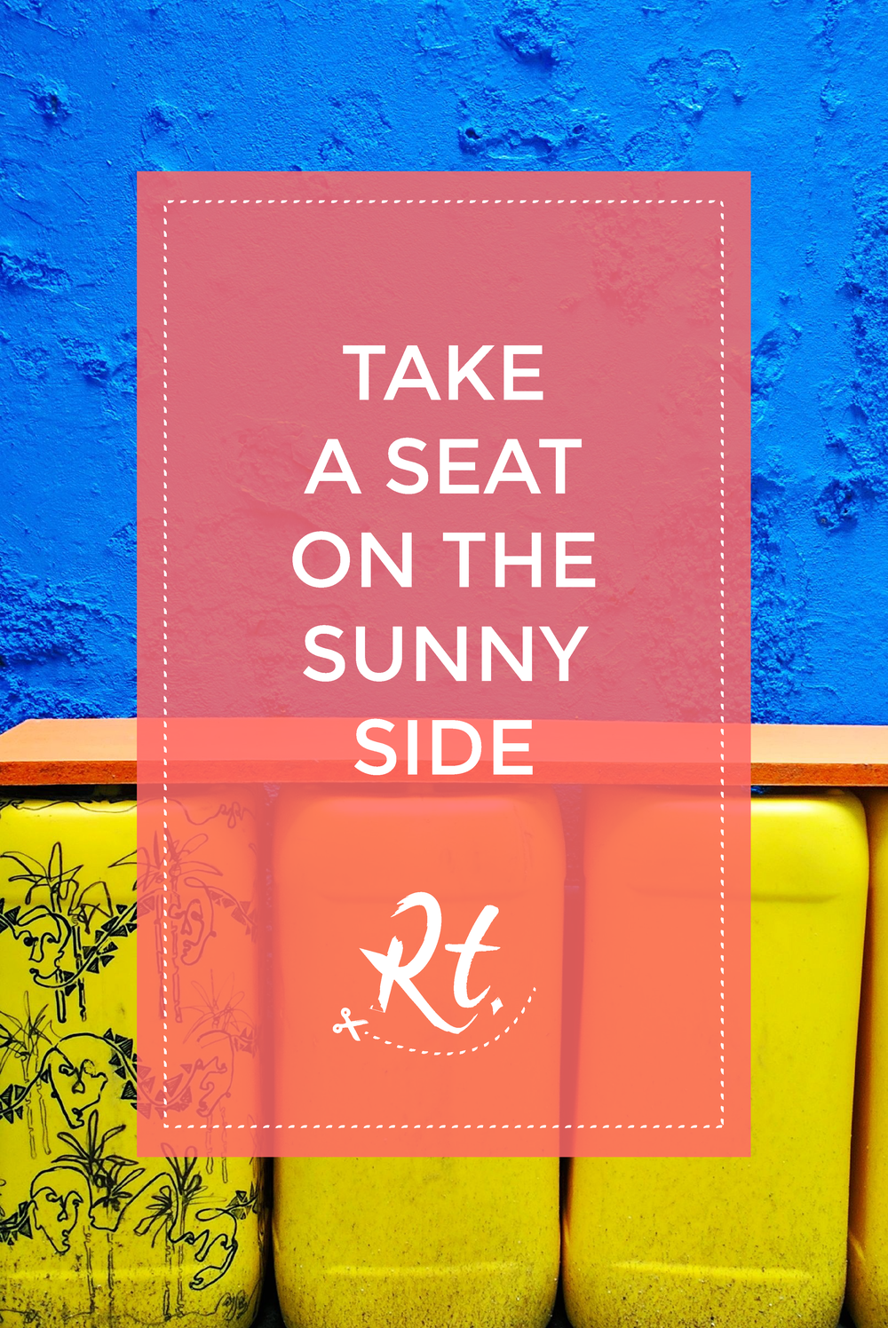 Take a Seat on the Sunny Side by Rosh Thanki, Yinka Ilori designed colourful bench at Plinth UK