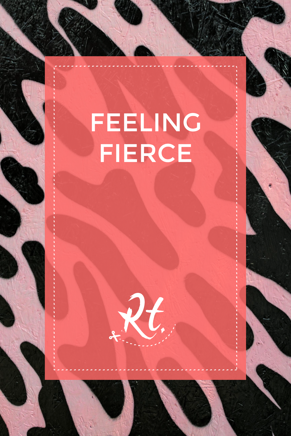 Feeling Fierce by Rosh Thanki, Mr Penfold animal print pattern in Camden, street art