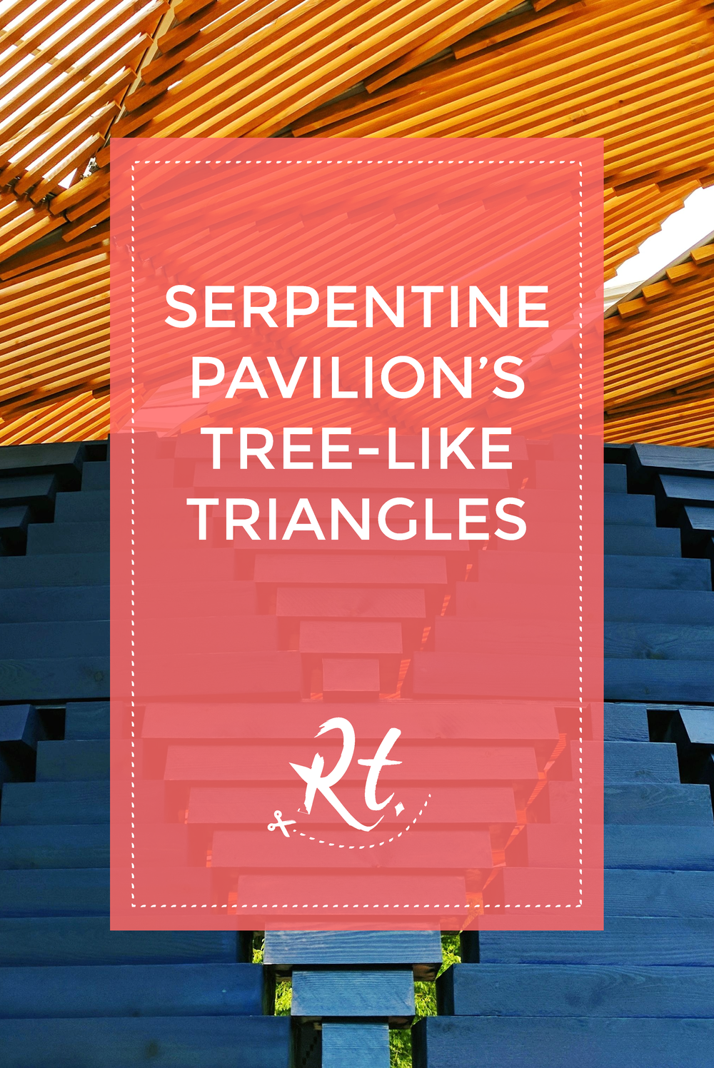 Serpentine Pavilion's Tree-Like Triangles by Rosh Thanki, Francis Kéré's indigo blue tree canopy at serpentine gallery