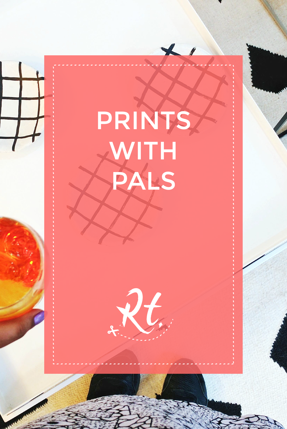 Prints with Pals by Rosh Thanki, We Blog Design Summer Social at Future and Found with Kangan Arora rug