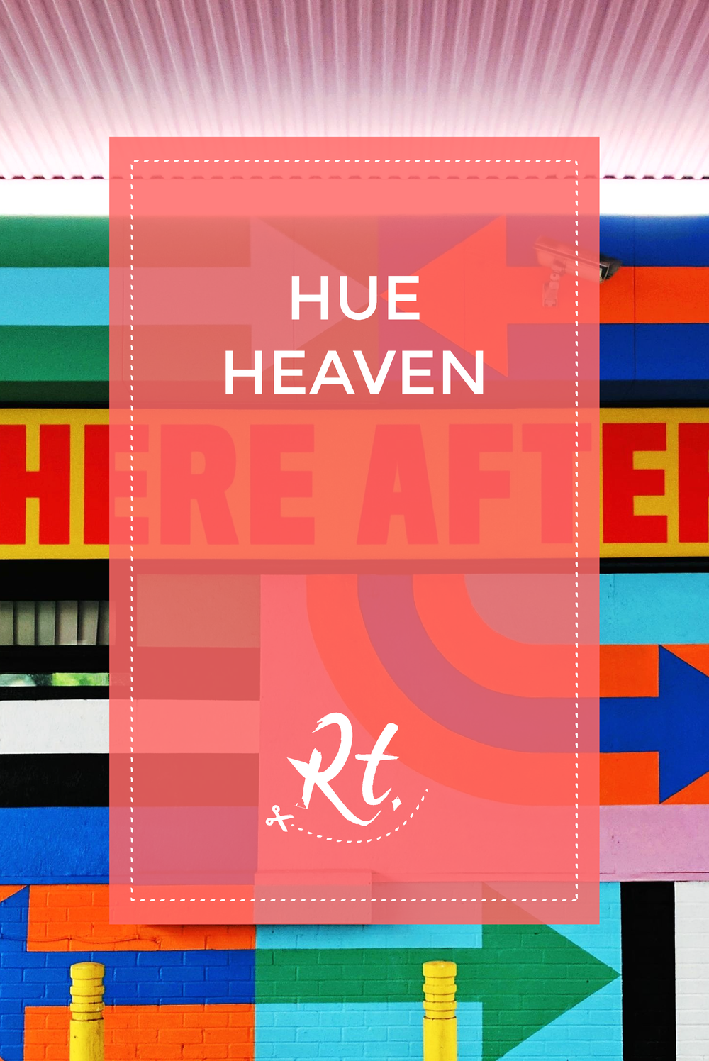 Hue Heaven by Rosh Thanki, Craig and Karl White City, Here After street art