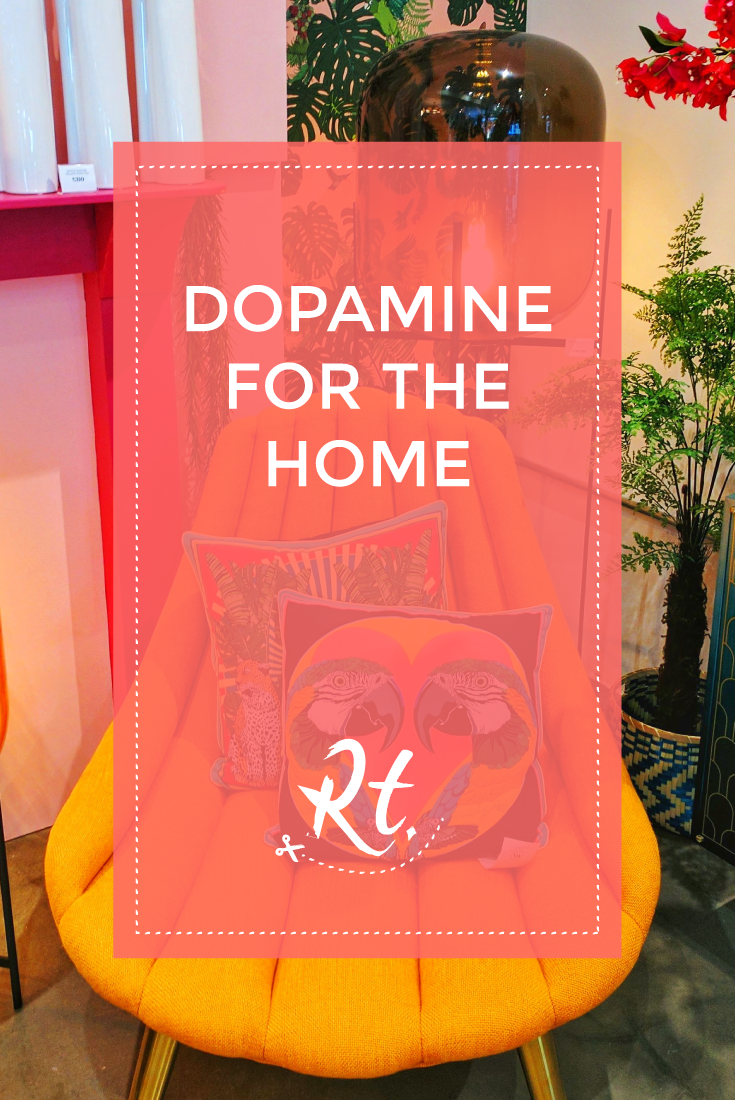 Dopamine for the Home by Rosh Thanki, W A Green London, interior design shop