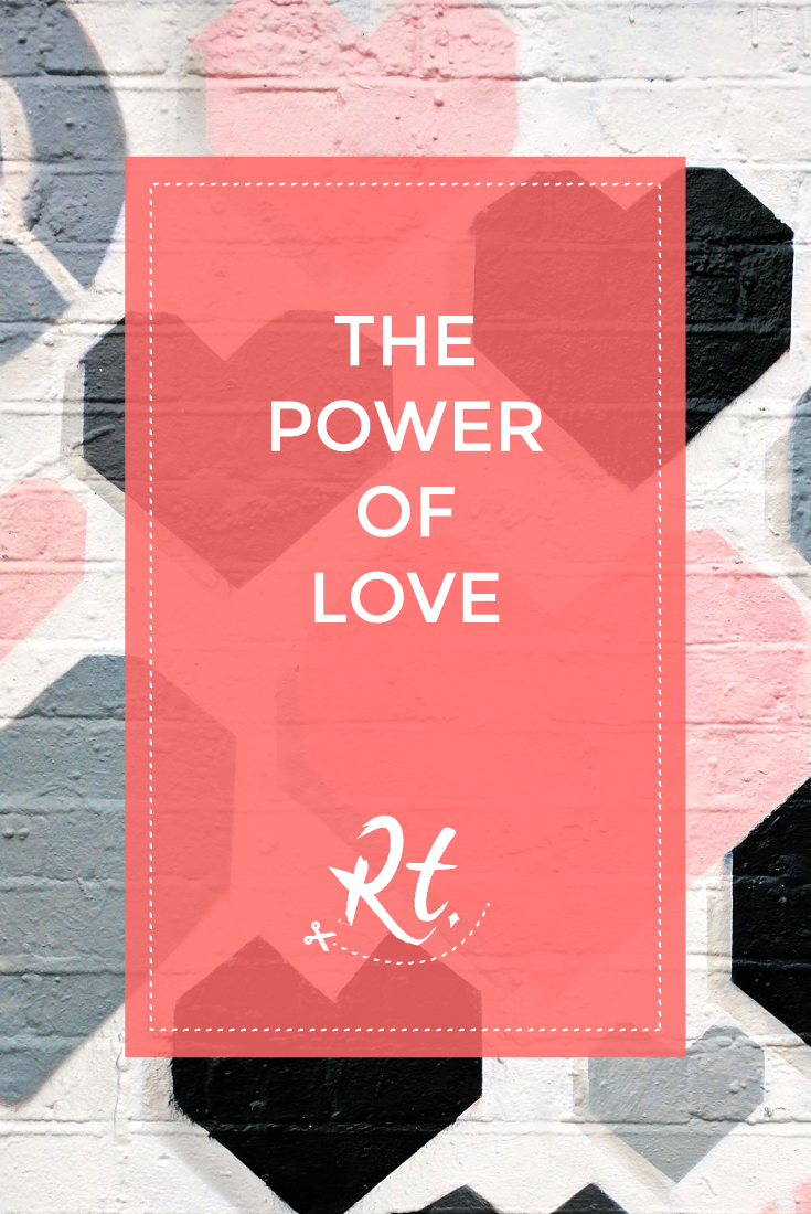 The Power of Love, by Rosh Thanki, liketoknow it hearts wall in shoreditch
