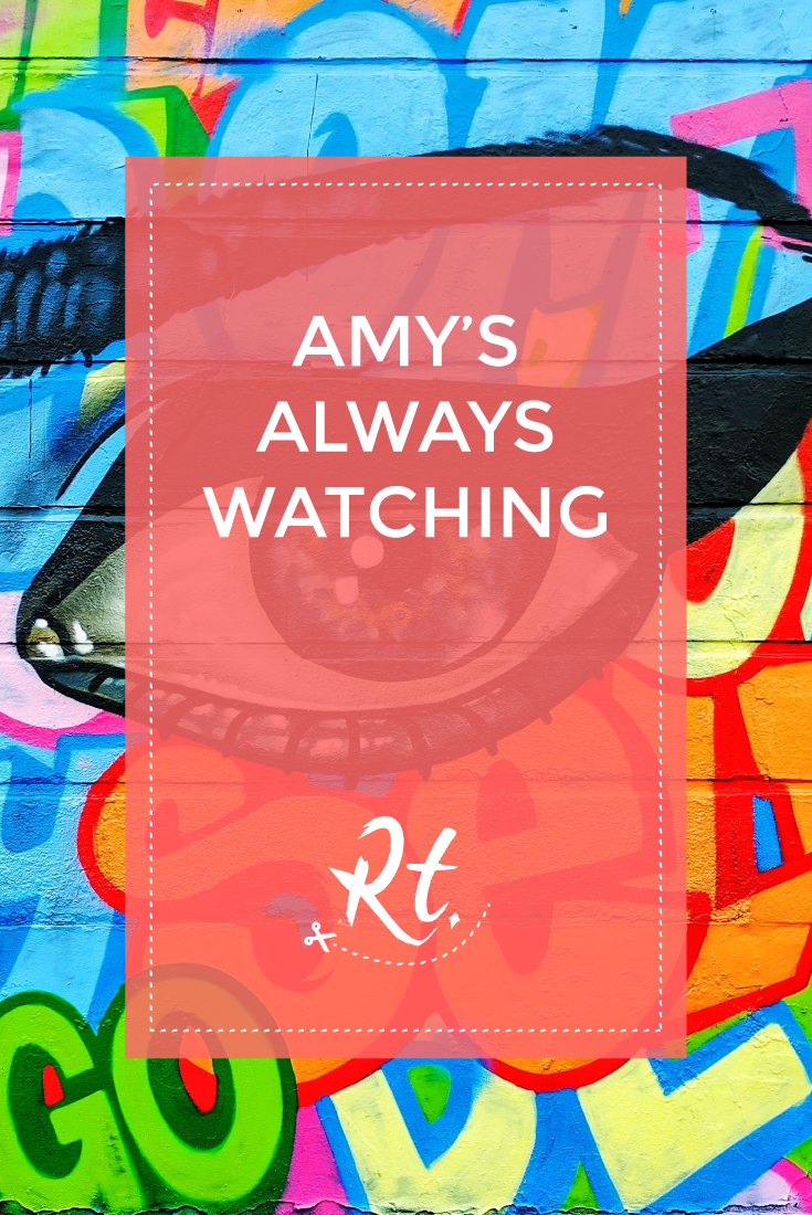 Amy's Always Watching by Rosh Thanki, Captain Kris and Amara Por Dios, Amy Winehouse mural in Camden Town