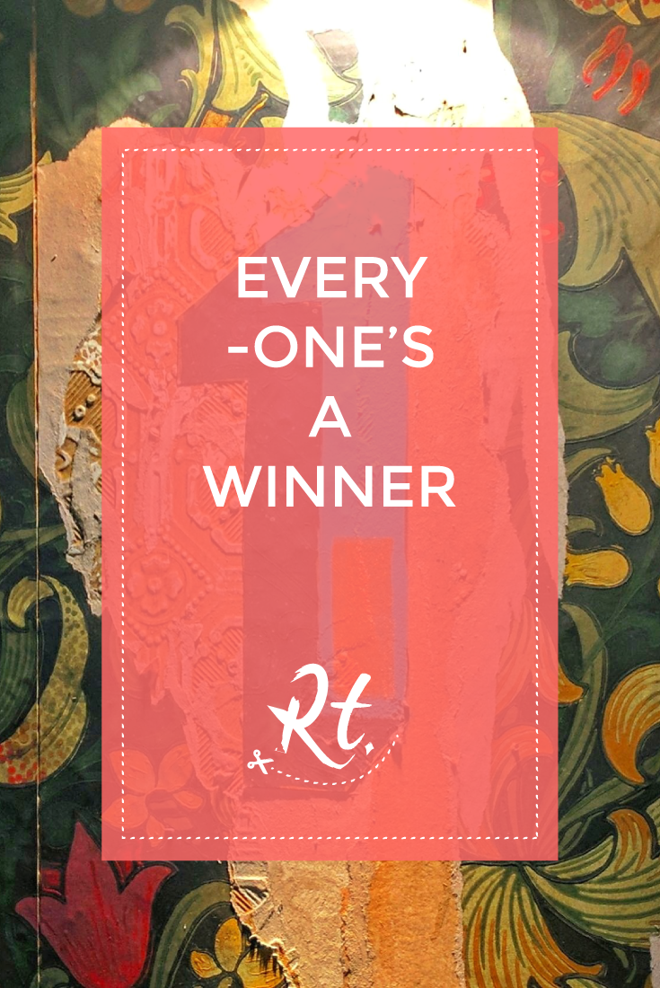 Every-One's a Winner by Rosh Thanki, William Morris style wallpaper at Flight club