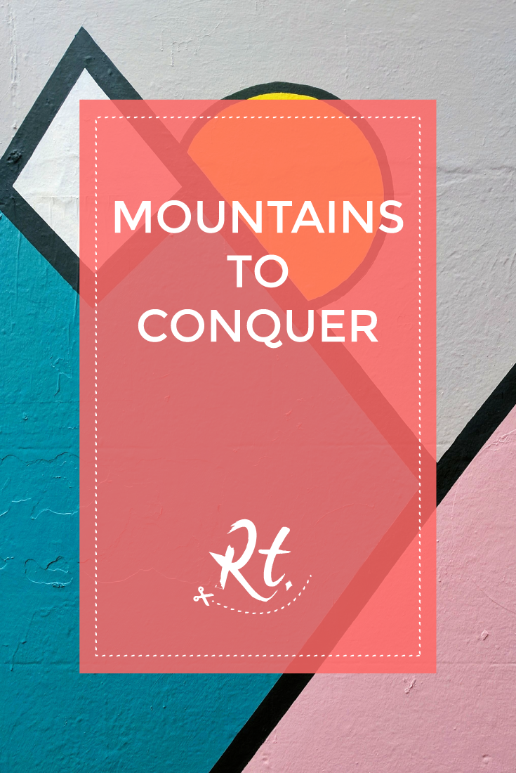 Mountains to Conquer by Rosh Thanki, chloe bailey street art, brighton
