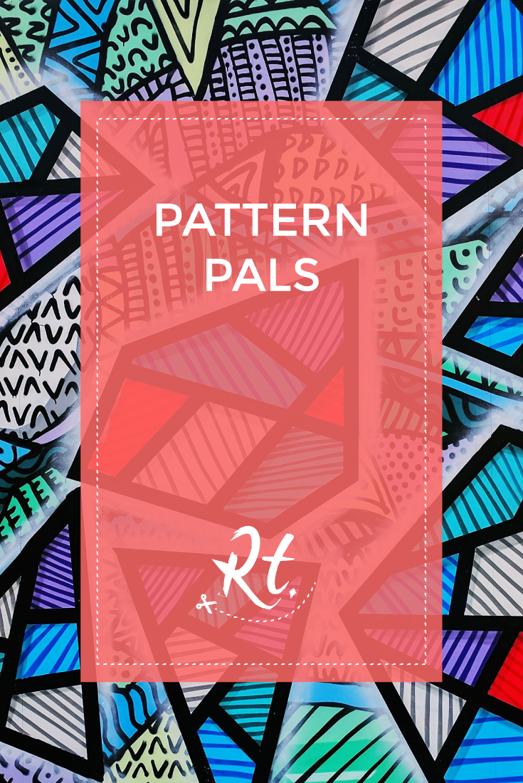 Pattern Pals by Rosh Thanki, DRT London Camden street art collaboration with impulse prints