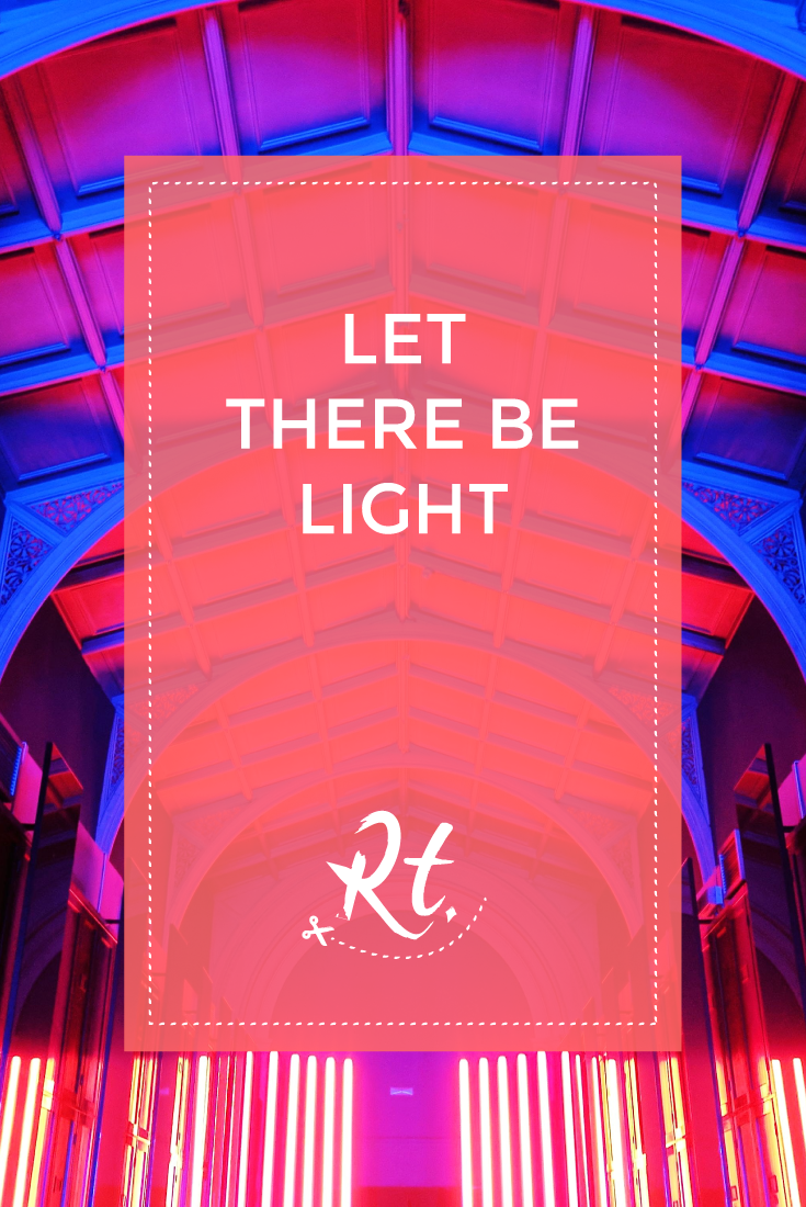 Let There Be Light by Rosh Thanki, Reflection Room installation at the Victoria and Albert Museum by Flynn Talbot for London Design Festival