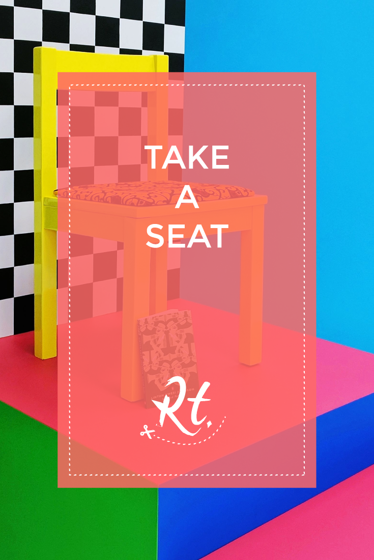 Take a Seat by Rosh Thanki, Yinka Ilori's chair sculptures for London Design Festival at the Africa Centre