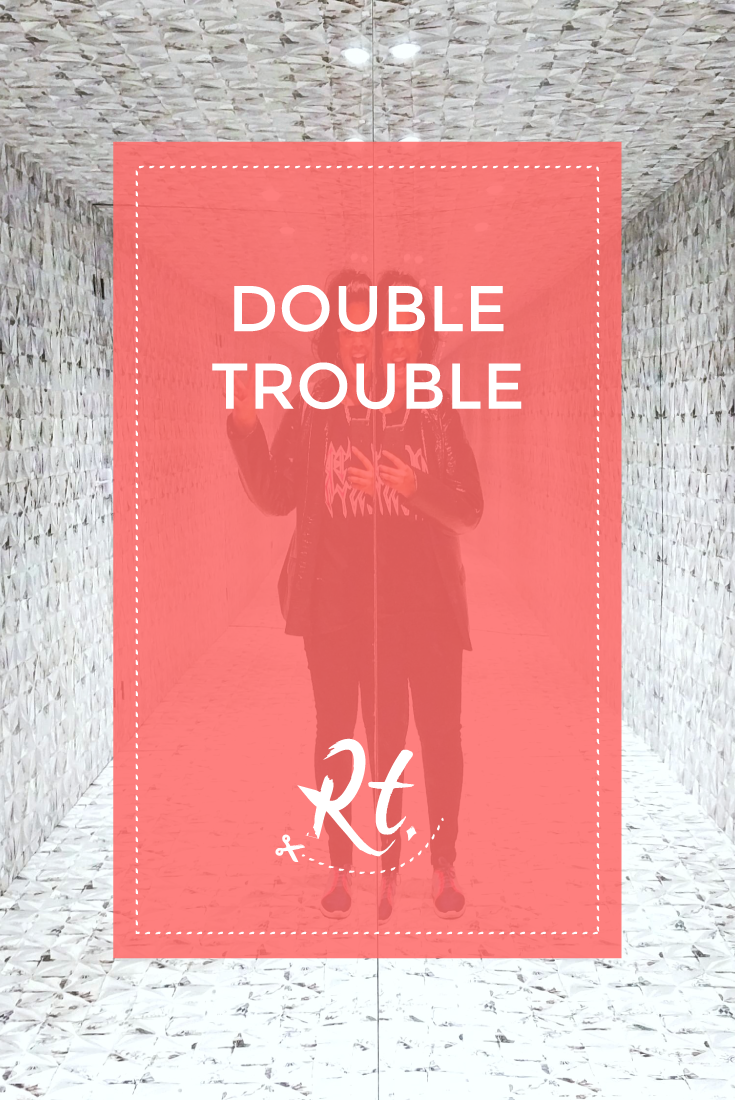 Double Trouble by Rosh Thanki, House of Wallpaper by Graham and Brown in Soho