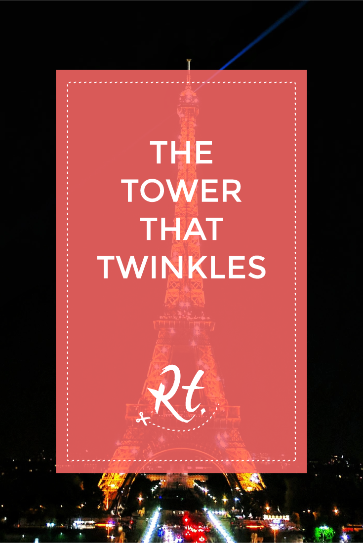 The Tower That Twinkles by Rosh Thanki, the Effiel Tower, Paris