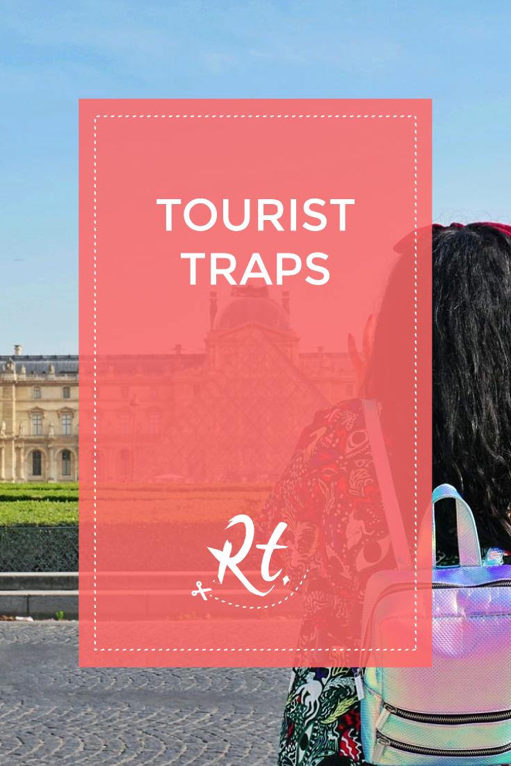 Tourist Traps by Rosh Thanki, back portrait at the Louvre in Paris