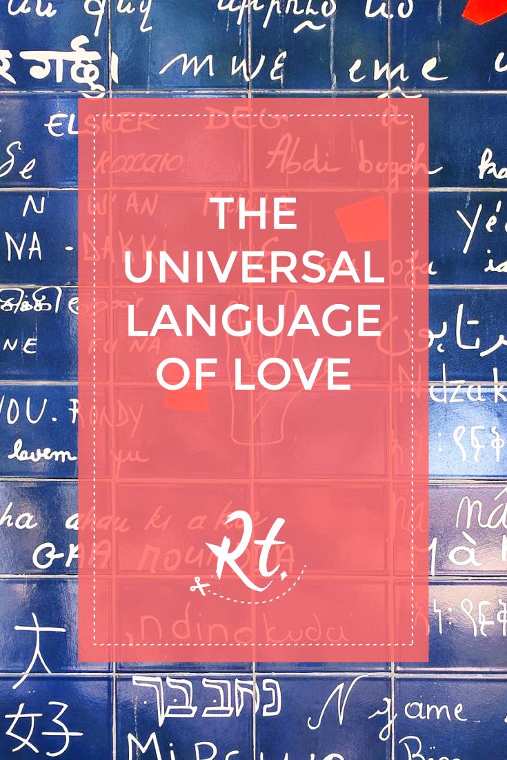 The Universal Language of Love by Rosh Thanki, Le mur des je t'aime at montmatre, Paris