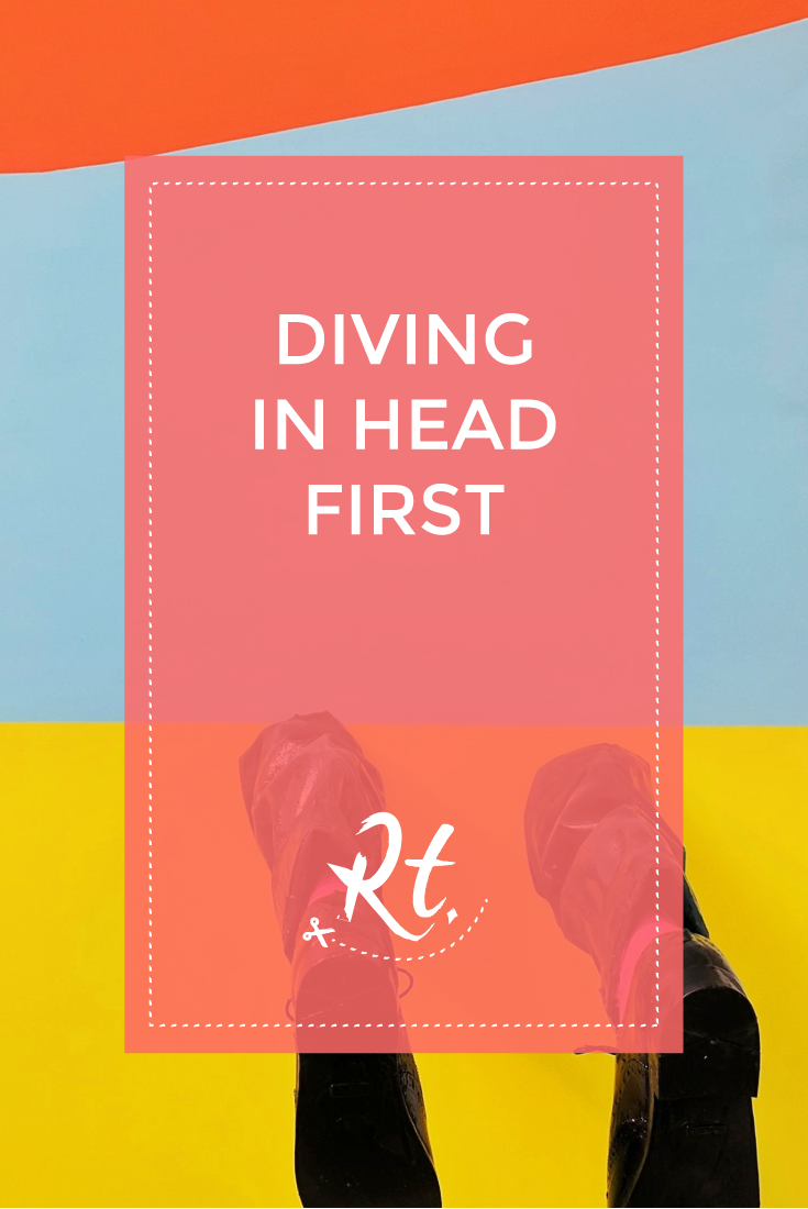 Diving In Head First by Rosh Thanki, Private View at the Conran Shop and It's Nice That, Arc Two and Howlings Hands